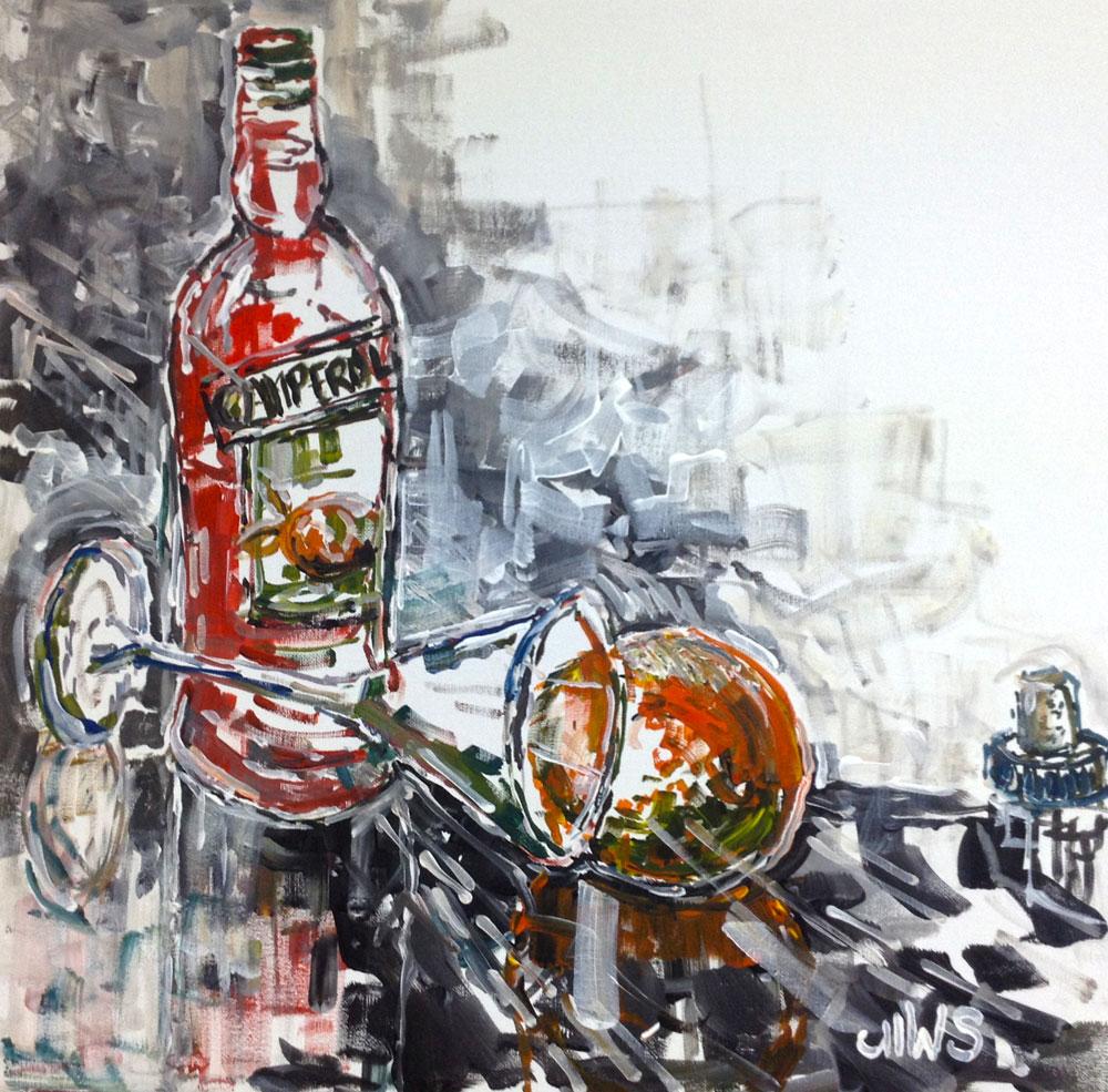 Acryl auf Leinen, 50x50 cm, 2014