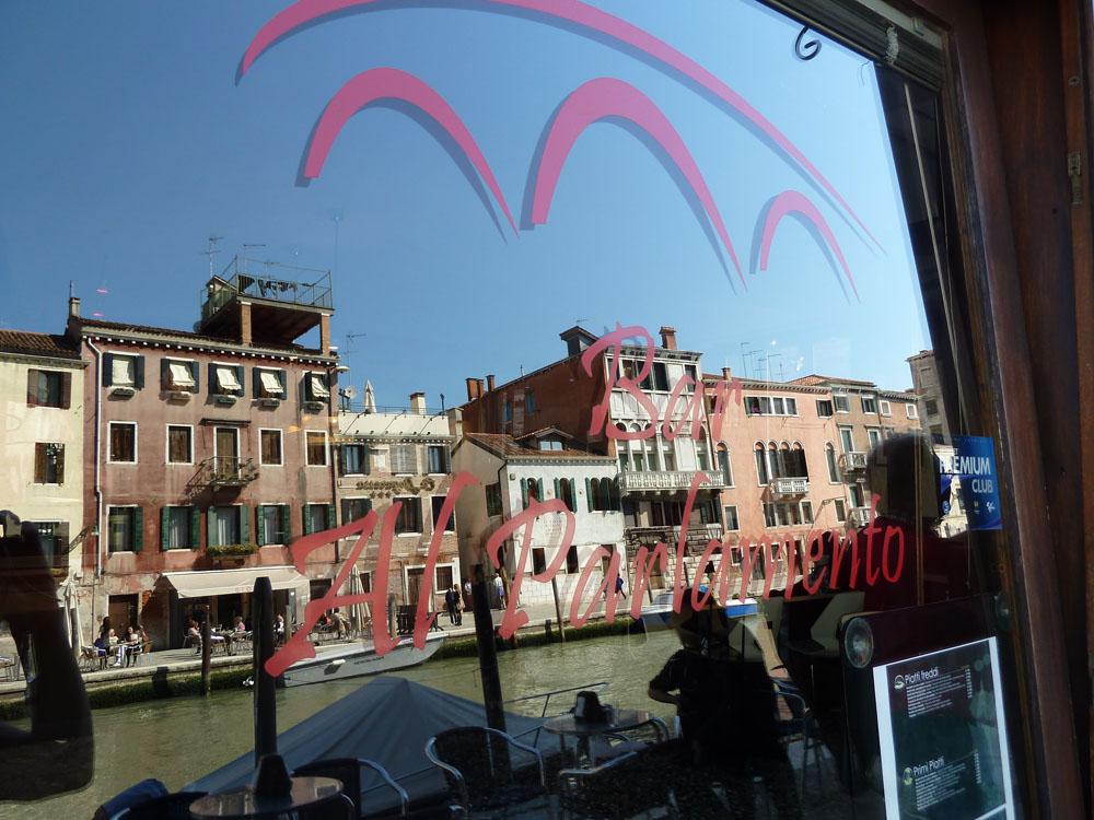 Venedig Ponte di tre archi Brücke mit drei Bögen