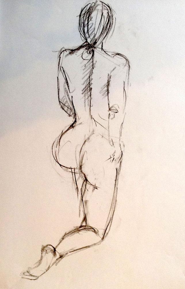 rueckenakt-weiblich-kniend