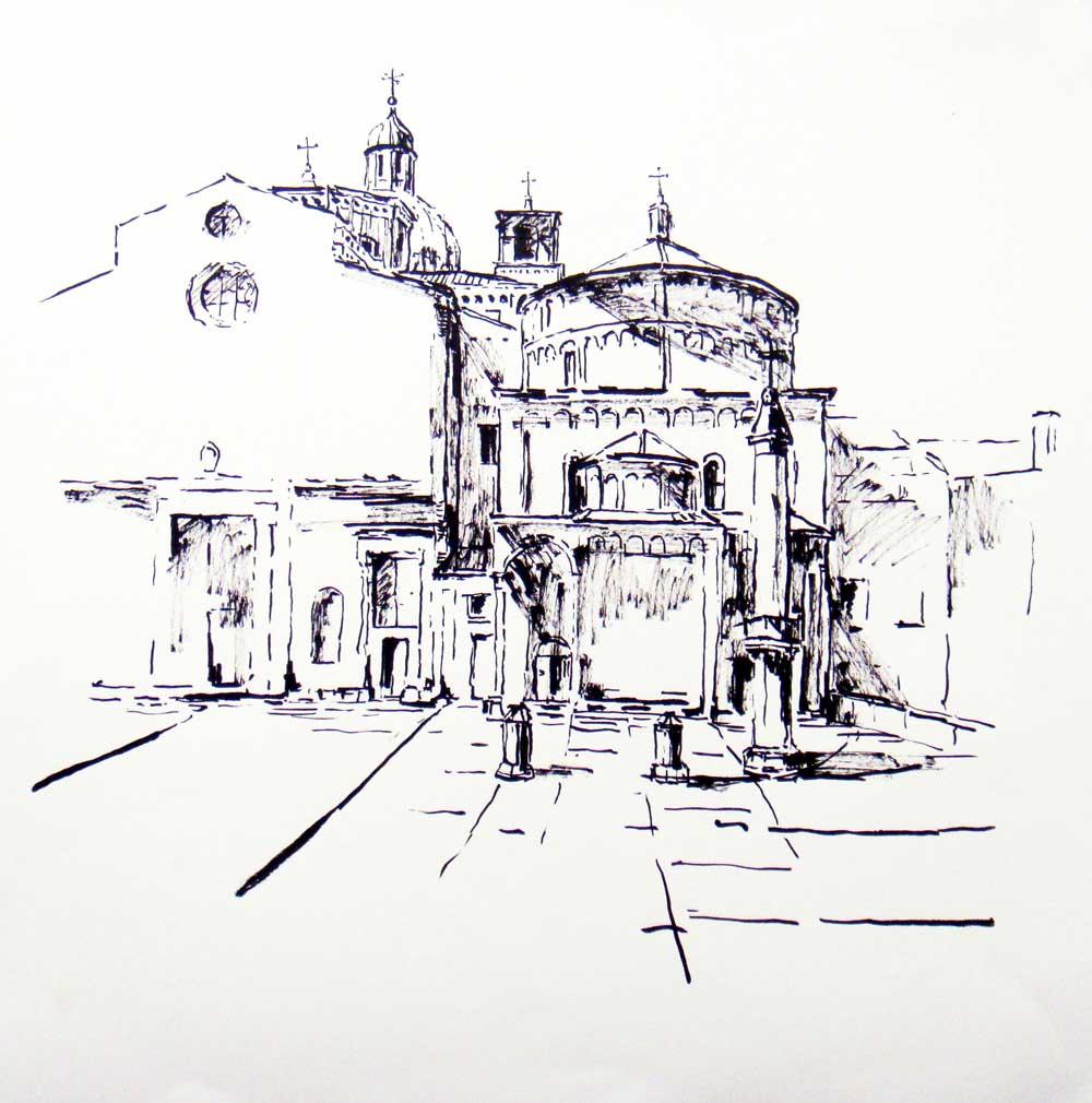 Padua, Dom und Baptisterium
