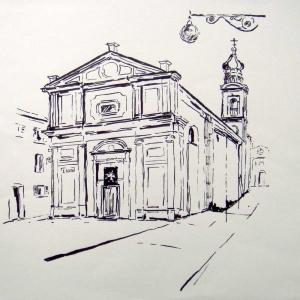 Este Kirche S. Rosso