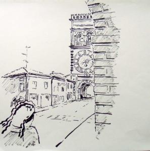 Este Uhrturm Glockenturm