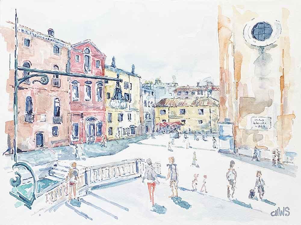 Campo dei Frari, Sestiere San Polo, Venezia